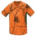 T-shirt Pinewood - Ramsey Coolmax Kamuflaż AP Blaze-zielony