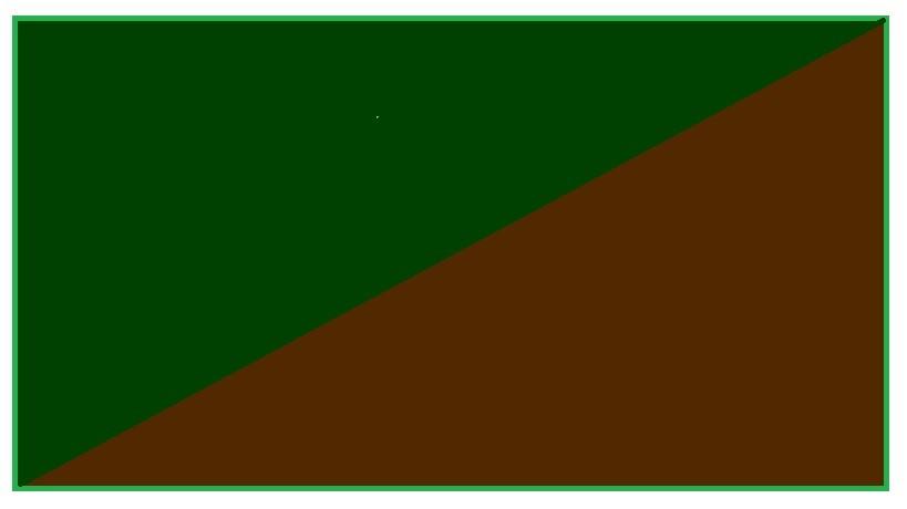 Zielono-brązowy