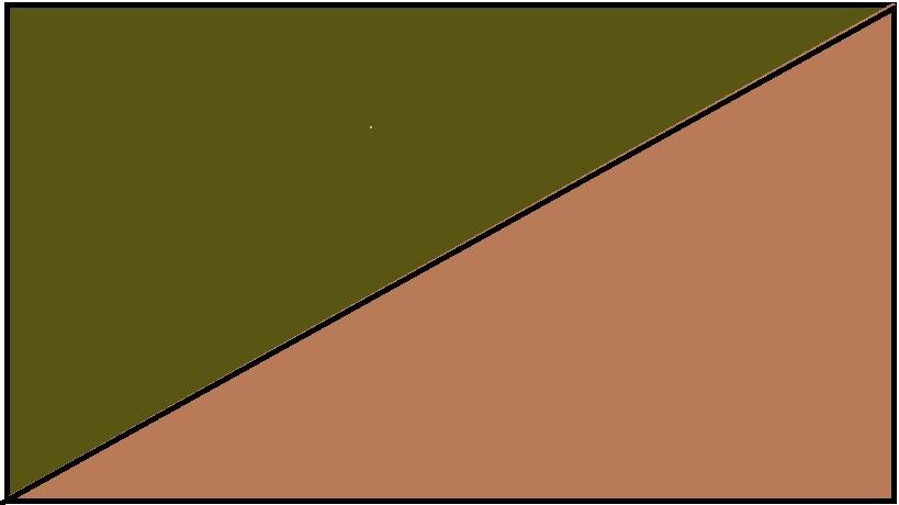 Oliwkowozielono-brązowy