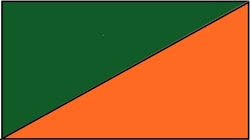 Zielono-pomarańczowy