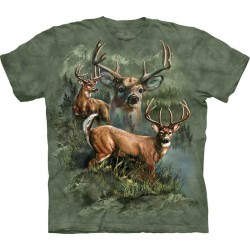 Koszulka T-shirt Deer Collage