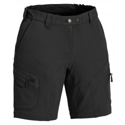Szorty damskie Pinewood - Vildmark Stretch black