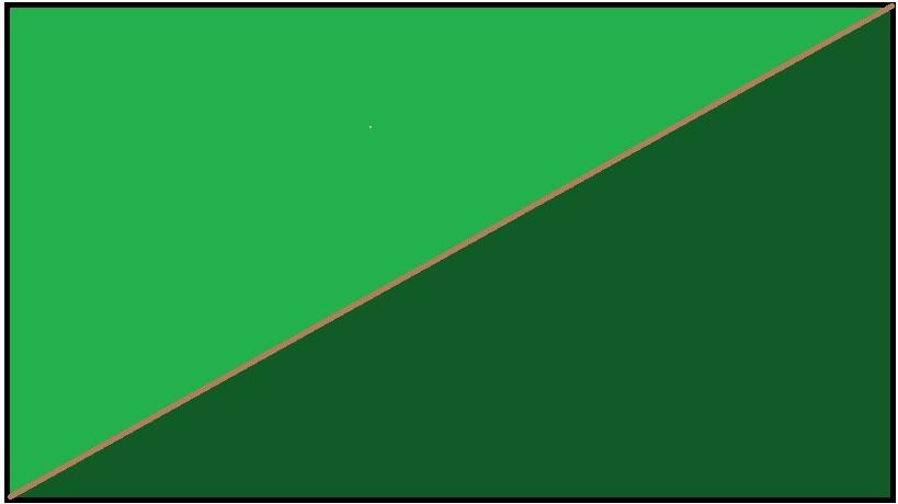 Zielono-ciemnozielony