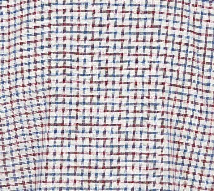 NAVY CHECK (1016) shirt dam.